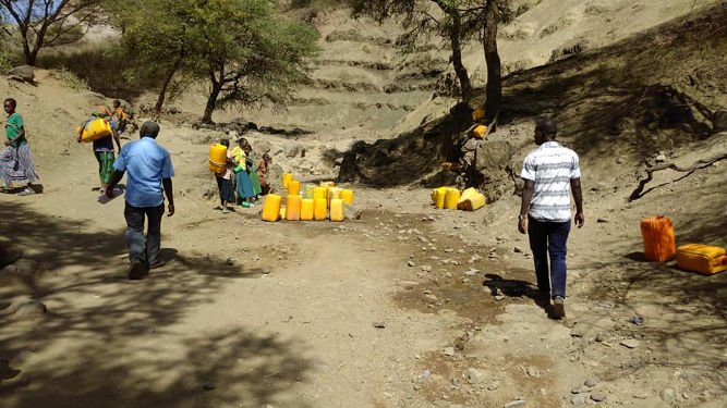 Ethiopia well project