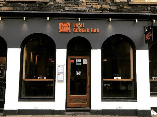 The La'al Burger Bar in Ambleside