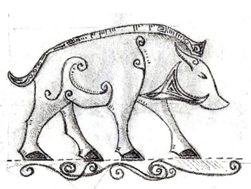 Pictish Boar